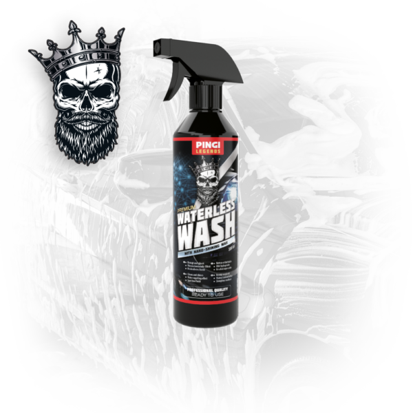 PINGI LEGENDS Waterless wash